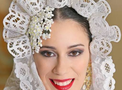 Rebeca Férez Alarcón, candidata 2020 de la Hoguera Sagrada Familia.