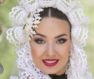 Alba Martínez, candidata 2019 de la Hoguera Passeig de Gomis