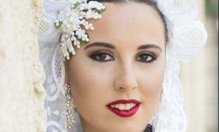 Sara Benedicto, candidata 2019 de la hoguera Rambla de Méndez Núñez