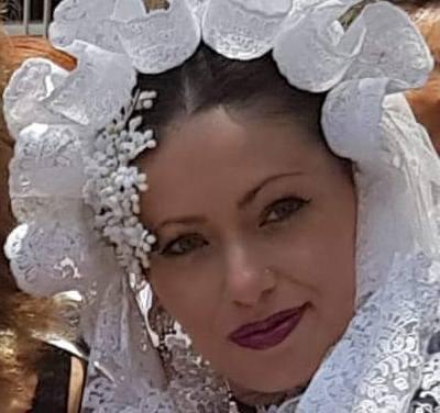 Yelitza Almada, candidata 2019 de la Hoguera Campoamor Norte – Plaza de América