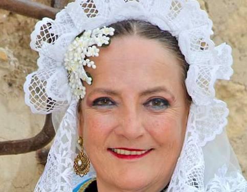 Mari Carmen Farpón Beltrán, candidata 2020 de la hoguera Nou Alacant