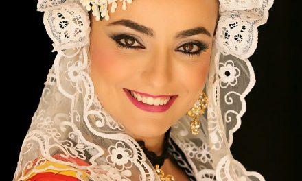 Miriam García, candidata 2018 de la hoguera San Antón Alto
