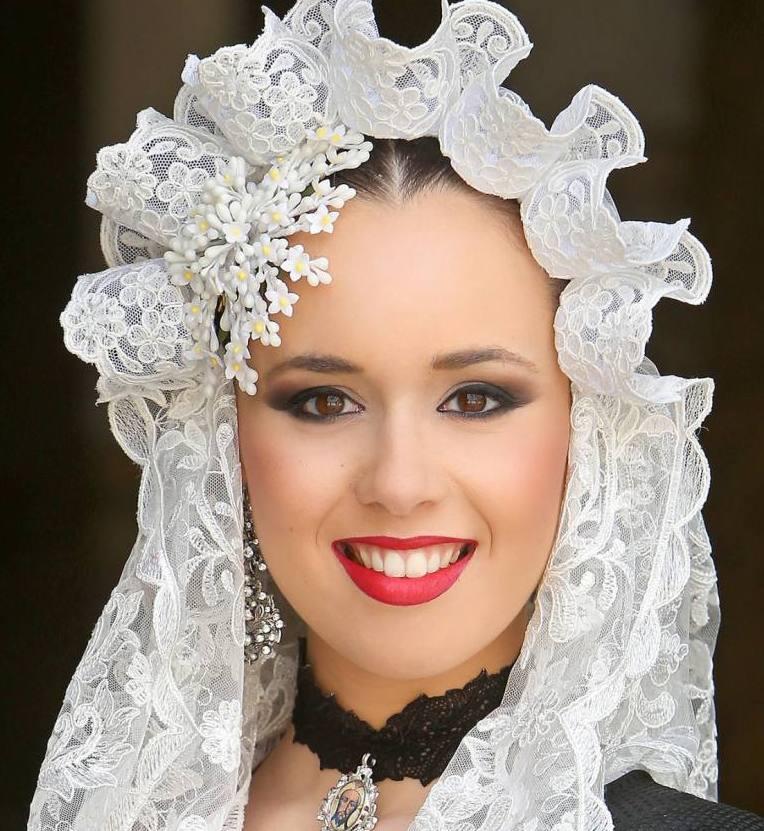 Isabel Bartual, candidata 2019 de la hoguera Carrer Sant Vicent