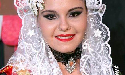 Gloria Esplá, candidata 2018 de la Hoguera Campoamor