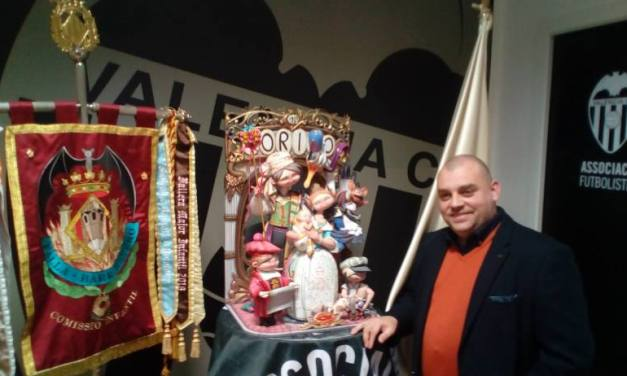 Sergio Gómez intentará repetir ninot indultat en Valencia