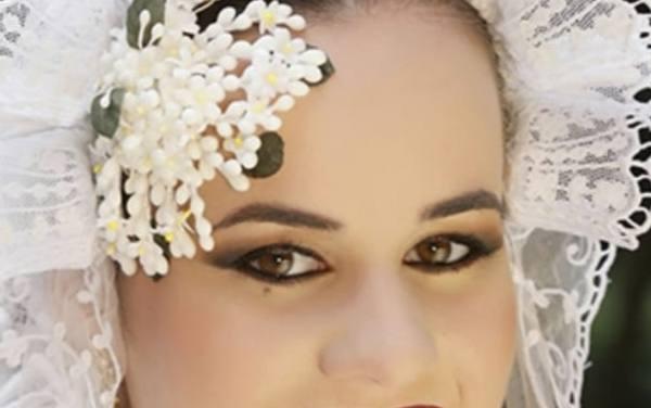 Andrea Domínguez Madrigal, candidata 2020 Hoguera Don Bosco