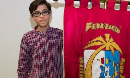 Iván Gómez, nuevo banderín de la Federació de les Fogueres de Sant Joan