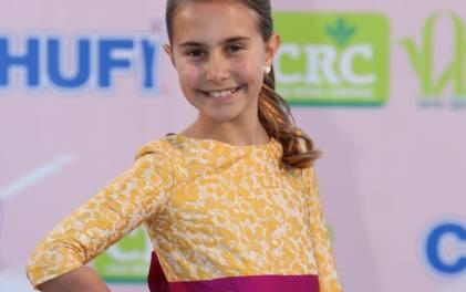 Fotografías de las candidatas infantiles en la Gala del Puerto 2019