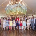 Las nuevas mujeres y niñas del fuego presentan su indumentaria