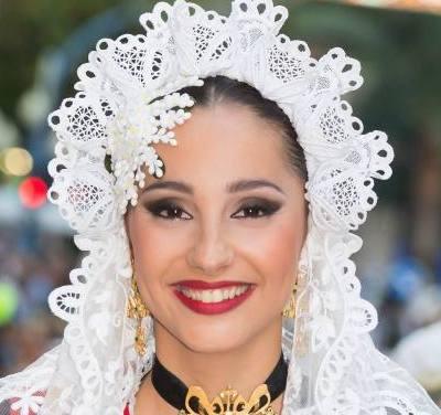 Laura Antón, candidata 2019 de la Hoguera La Cerámica