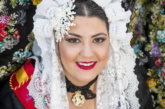 Lara Almarcha, candidata 2019 de la Hoguera Polígono de Babel-Bernardo Pérez Sales