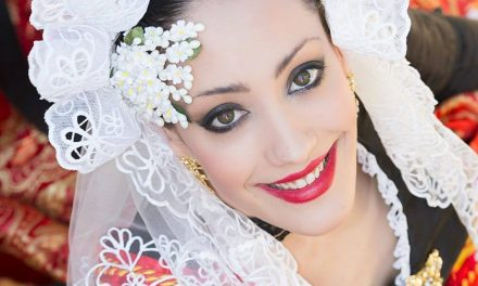 Virginia Gil, candidata 2018 de la Hoguera Barri de Sant Agustí