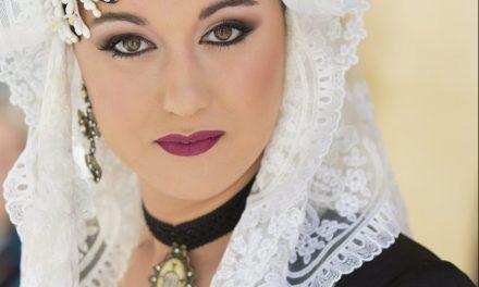 María Noguera, candidata 2018 de la Hoguera Via Parc Vistahermosa