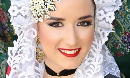 Marina Ortega, candidata 2019 de la Hoguera San Nicolás de Bari-Benisaudet