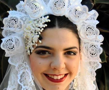 Alba Durán Marín, candidata 2020 de la Hoguera Plaza de Ruperto Chapí