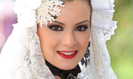 Paula Sánchez, candidata 2018 de la Hoguera Altozano
