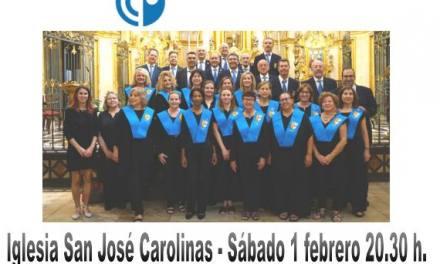 Carolinas Altas organiza un concierto solidario