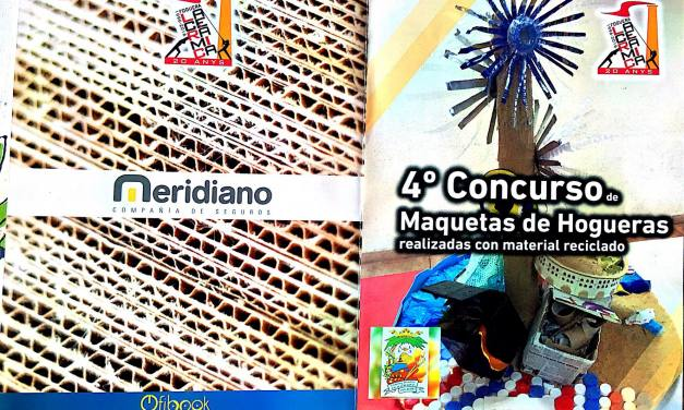 Concurso de maquetas con material reciclado en La Cerámica