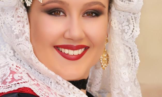 María Escarpín, candidata de la Hoguera La Condomina