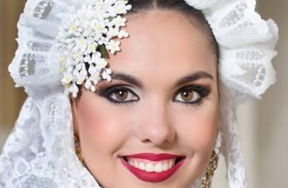Lorena Balbuena, candidata 2019 de la Hoguera Florida Portazgo