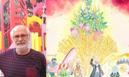 Paco Granja : arte, tradición e ilusión se dan cita esta noche en la planta de la Falla Oficial de Elda 2018