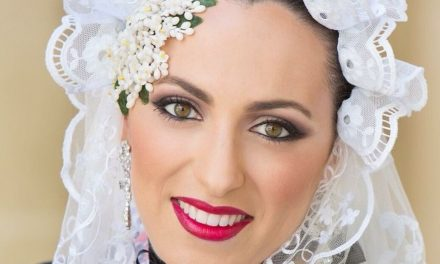 Amparo Sánchez, candidata 2018 de la Hoguera Monjas Santa Faz