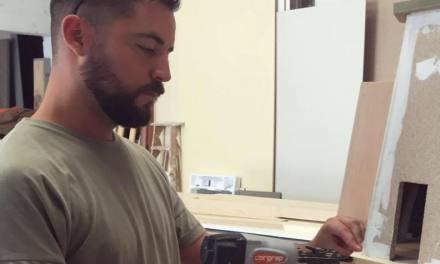 Vicente Domínguez se estrena en categoría adulta en la Hoguera Las Acacias